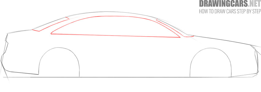 step 3 car drawing lesson