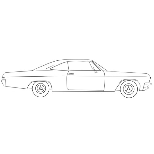 How to Draw a Classic Car for Beginners