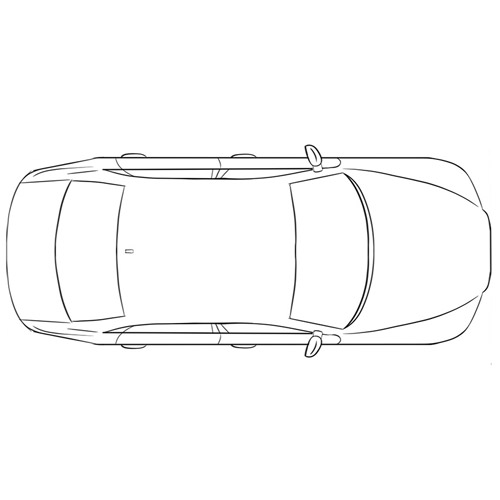 How to Draw a Car From the Top for Beginners