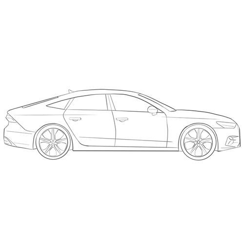 How to Draw a Car From the Side for Beginners
