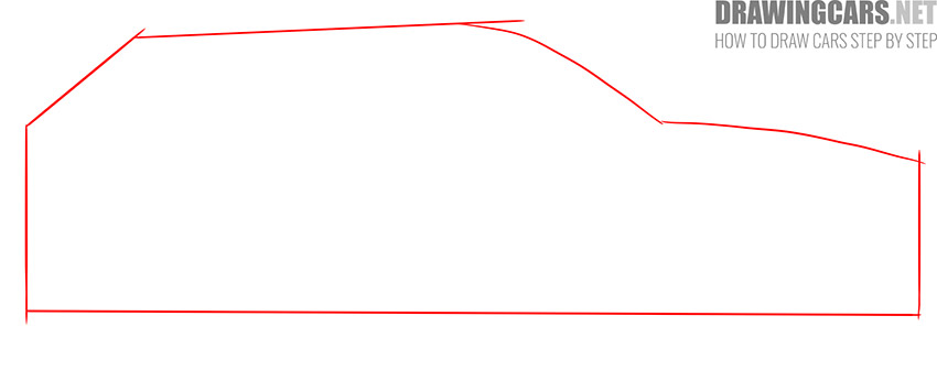 How to Draw a SUV for beginners instruction
