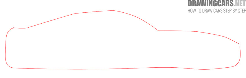 How to Draw a Simple Car for Beginners instruction