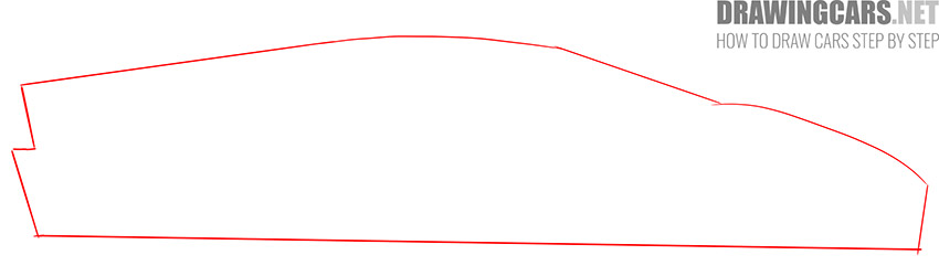 How to Draw a Supercar for Beginners step by step