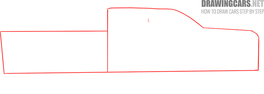 how to draw a Truck easy fast