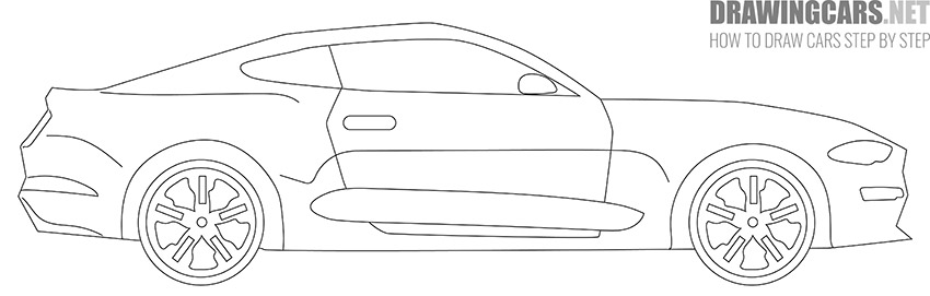 How to Draw a Simple Car for Beginners