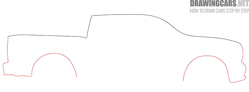 How to Draw a Truck for Beginners fast