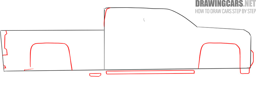 how to draw a Truck easy instruction