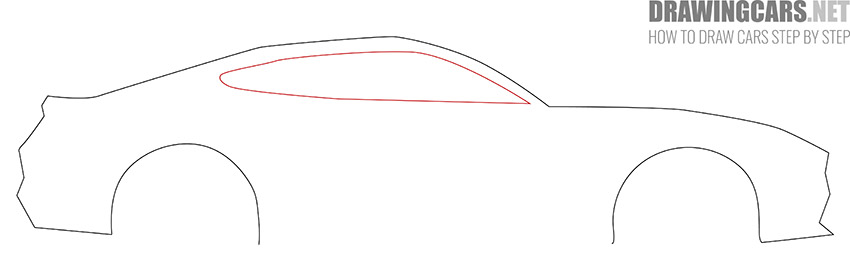 How to Draw a Simple Car for Beginners step by step