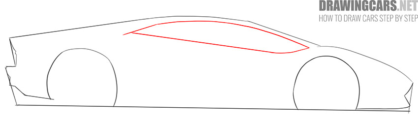 How to Draw a Supercar for Beginners instruction