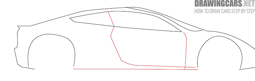 How to Draw a Tesla Roadster for Beginners guide