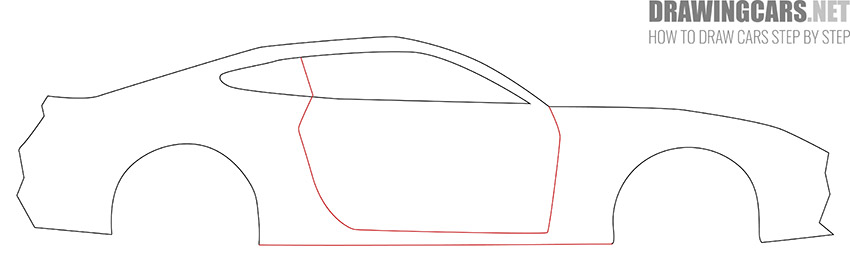 How to Draw a Simple Car for Beginners drawing
