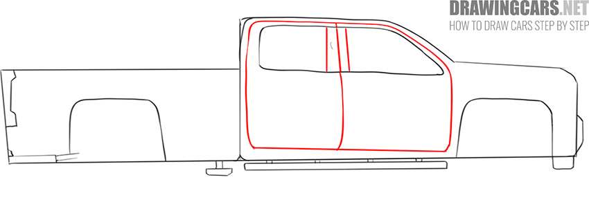 how to draw a Truck easy drawing