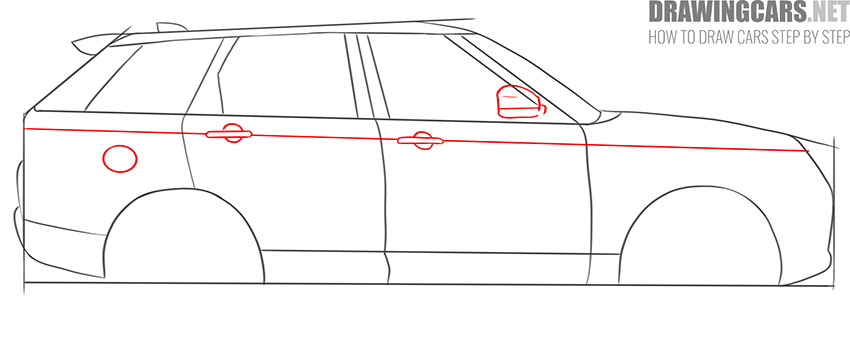How to Draw a SUV for beginners guide
