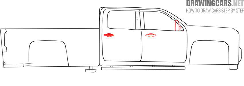 how to draw a Truck easy guide