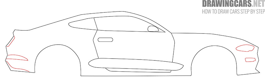 How to Draw a Simple Car for Beginners tutorial