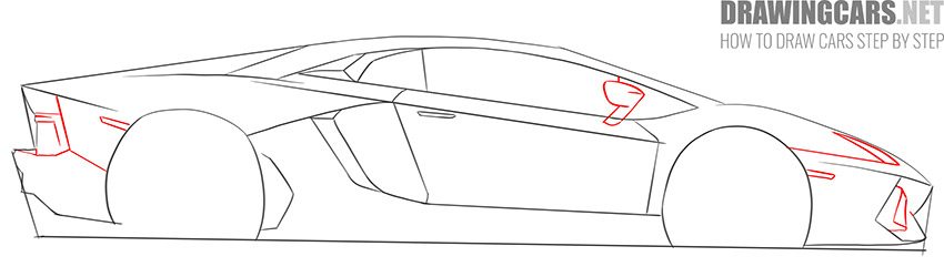 How to Draw a Supercar for Beginners tutorial