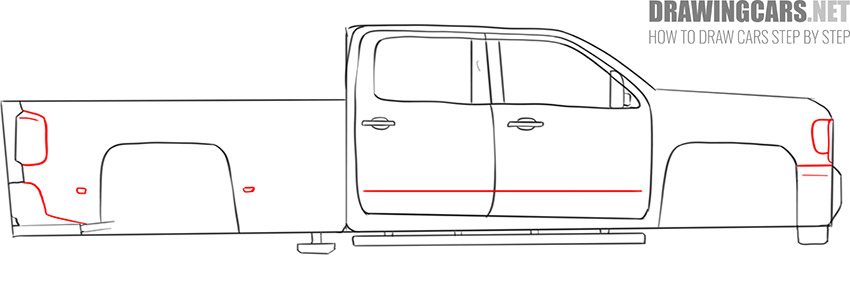 how to draw a Truck easy tutorial