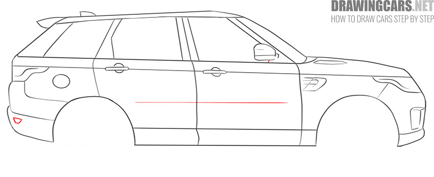 How to Draw a SUV for beginners easy