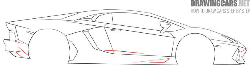 How to Draw a Supercar for Beginners lesson