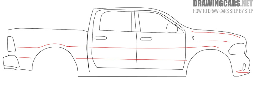 How to Draw a Truck for Beginners lesson