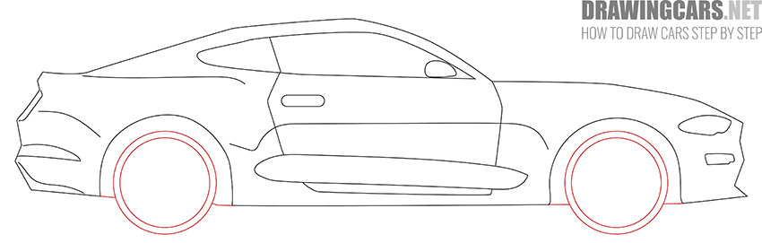 How to Draw a Simple Car for Beginners simple