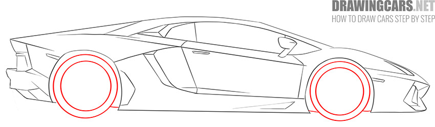 How to Draw a Supercar for Beginners simple
