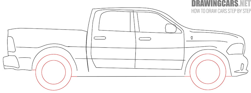 How to Draw a Truck for Beginners simple