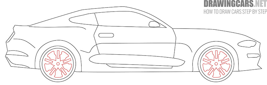 How to Draw a Simple Car for Beginners easy