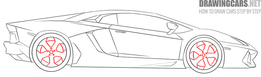 How to Draw a Supercar for Beginners easy