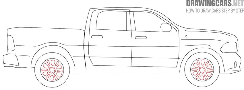 How to Draw a Truck for Beginners easy