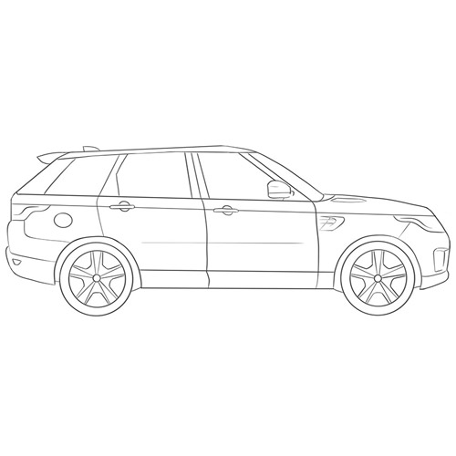 How to Draw an SUV for Beginners