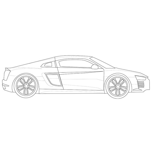 How to Draw a Supercar for Beginners